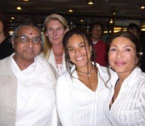 with Geeta Iyengar in Koln