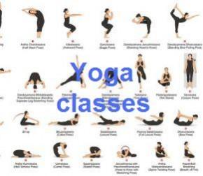 Waar en wanneer zijn de Yogalessen – When and where are the Yoga classes