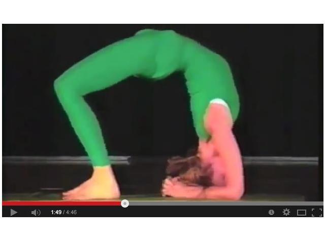 Patricia Walden's back bends