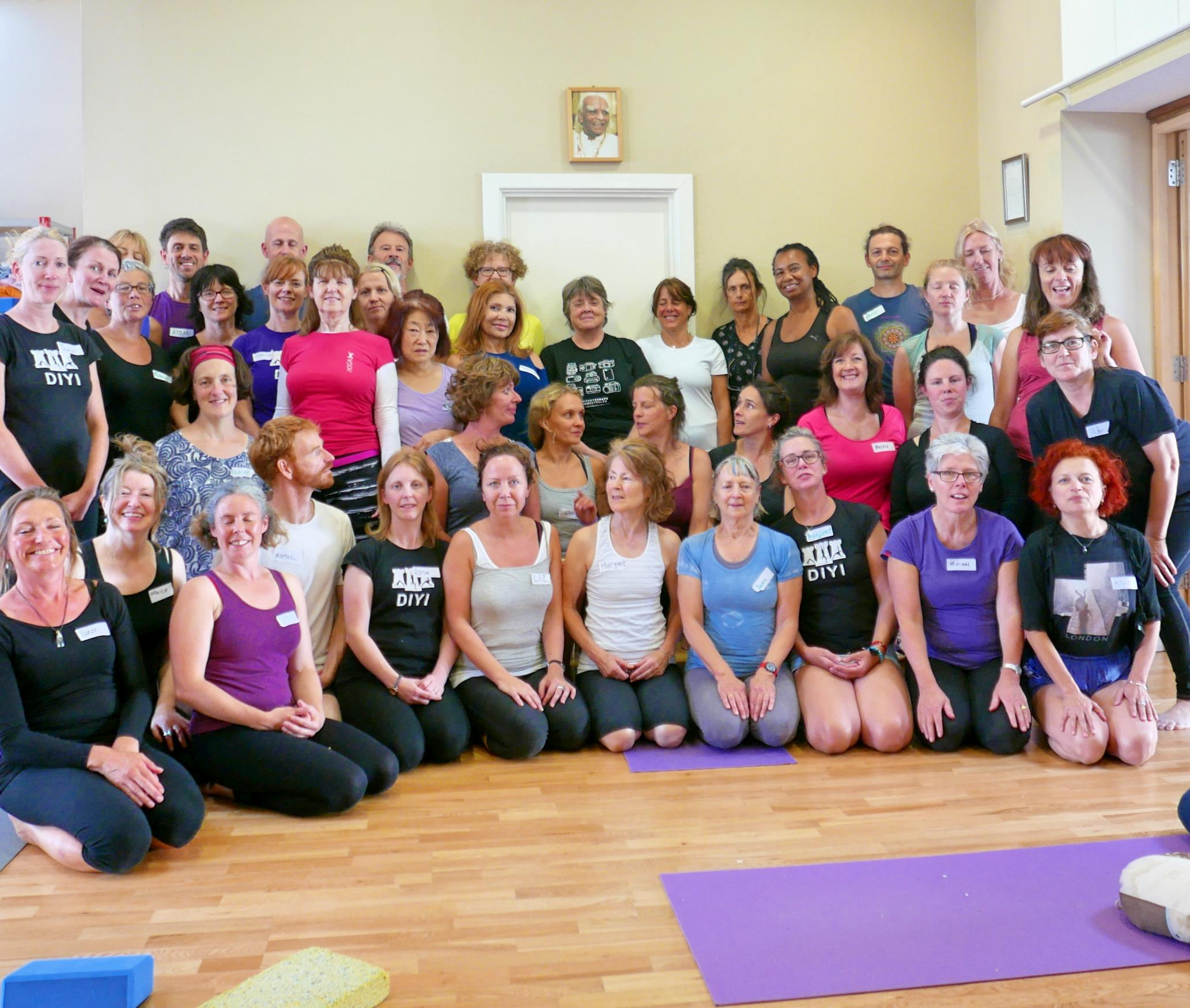 Yoga therapeutic workshop 2016
